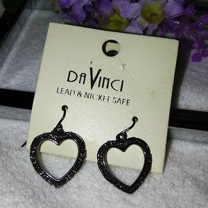 ❤️ Heart ❤️ Earrings ♥️